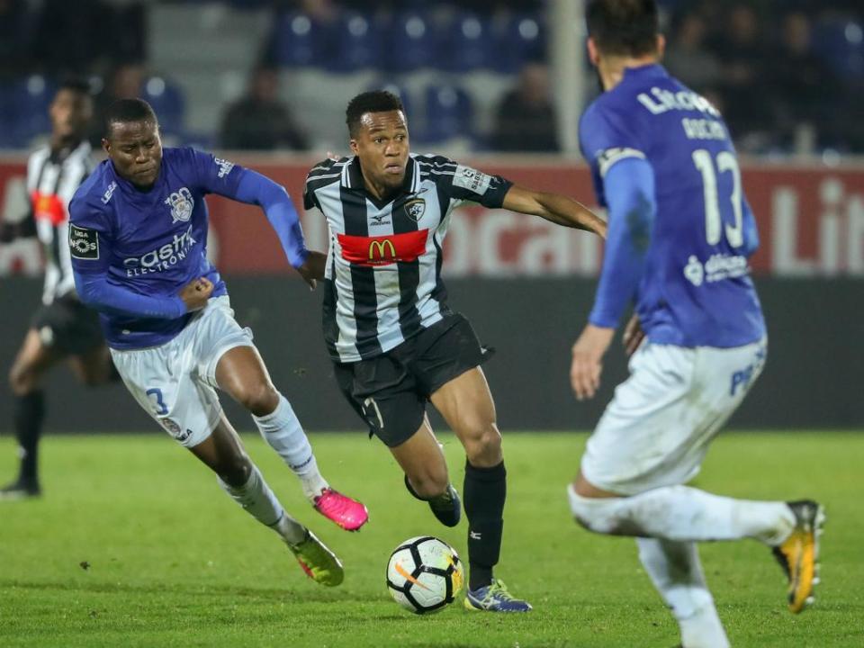 Feirense-Portimonense, 1-3 (resultado final)