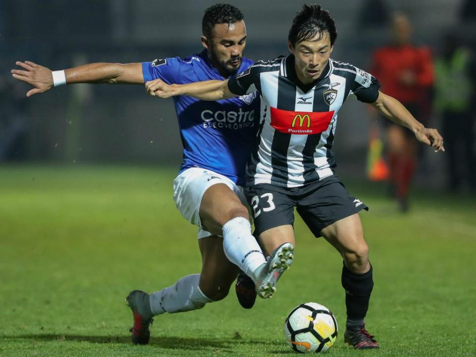 Feirense-Portimonense, 1-3 (destaques)