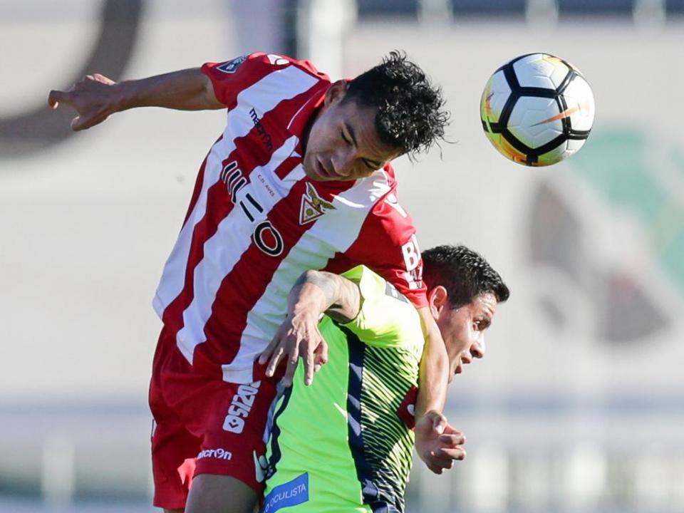Desp. Aves-Marítimo, 0-0 (resultado final)