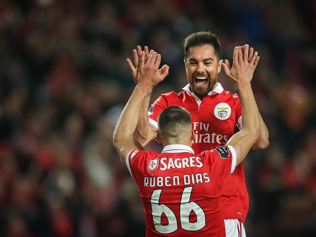 VÍDEO: antes do intervalo, Jardel aumentou a vantagem do Benfica