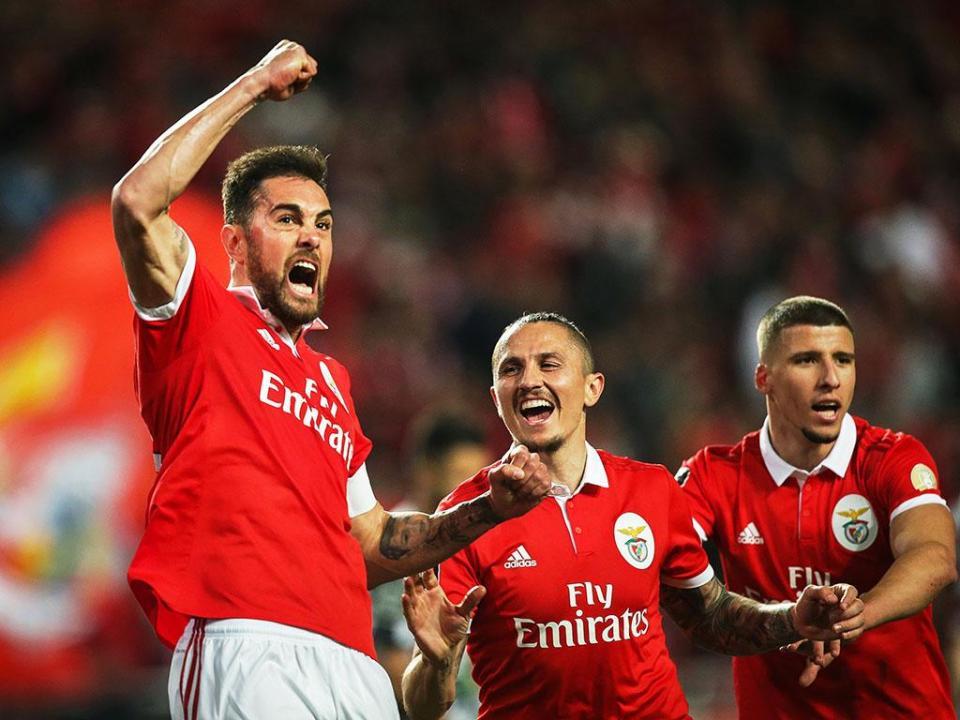 Benfica-Boavista, 4-0 (destaques)