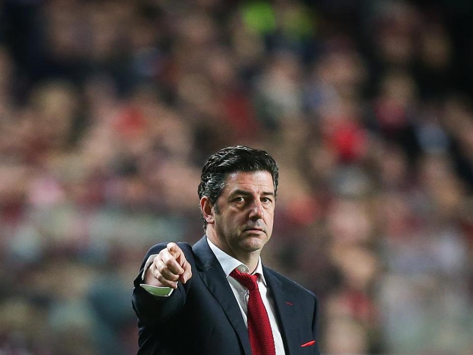 Benfica: Rui Vitória nunca esteve tantos jogos sem perder na mesma época