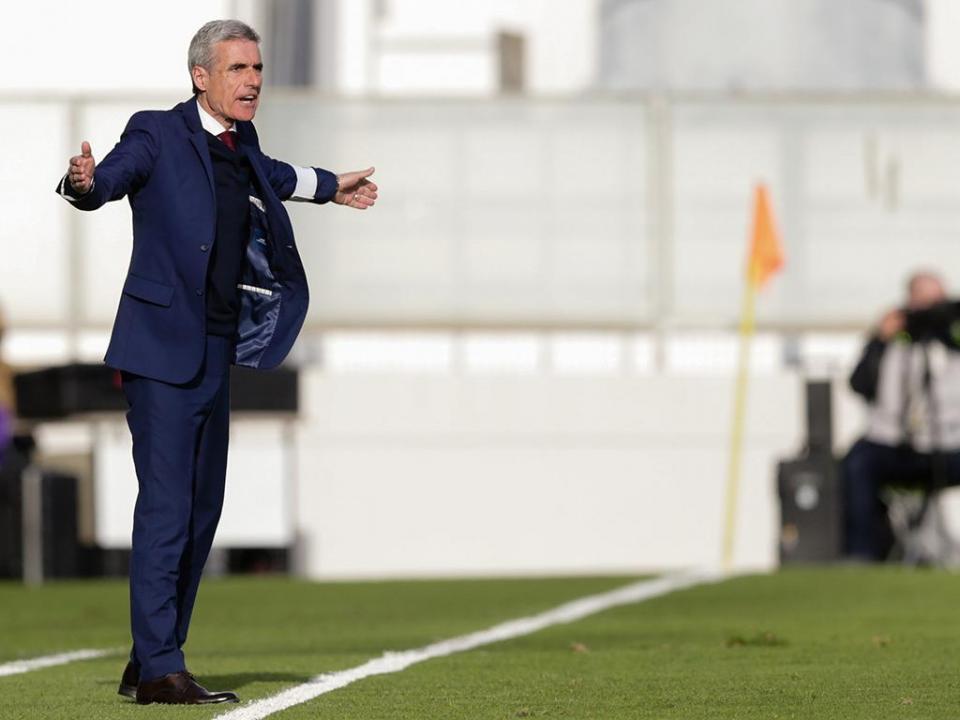 Luís Castro: «Também já perdemos com o Bressan e o Tiba em campo»
