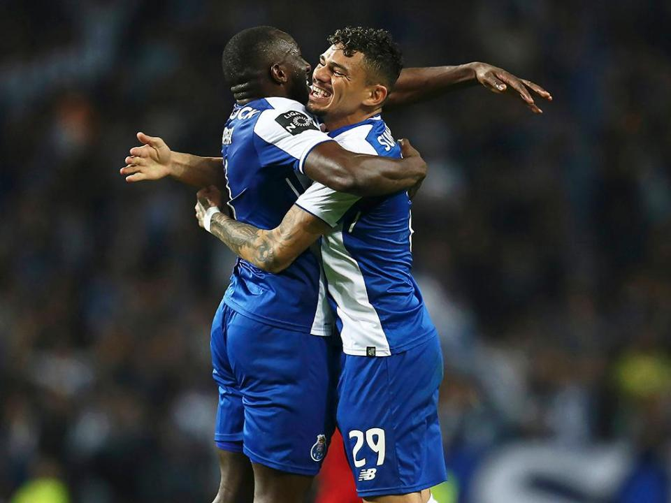 VÍDEO: Marega abre a contagem no FC Porto-V. Setúbal