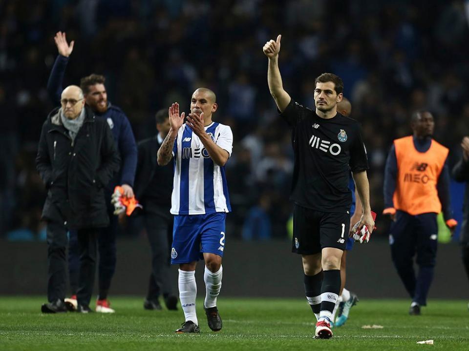 Liga: Iker Casillas recebe prémio de jogador Fair Play
