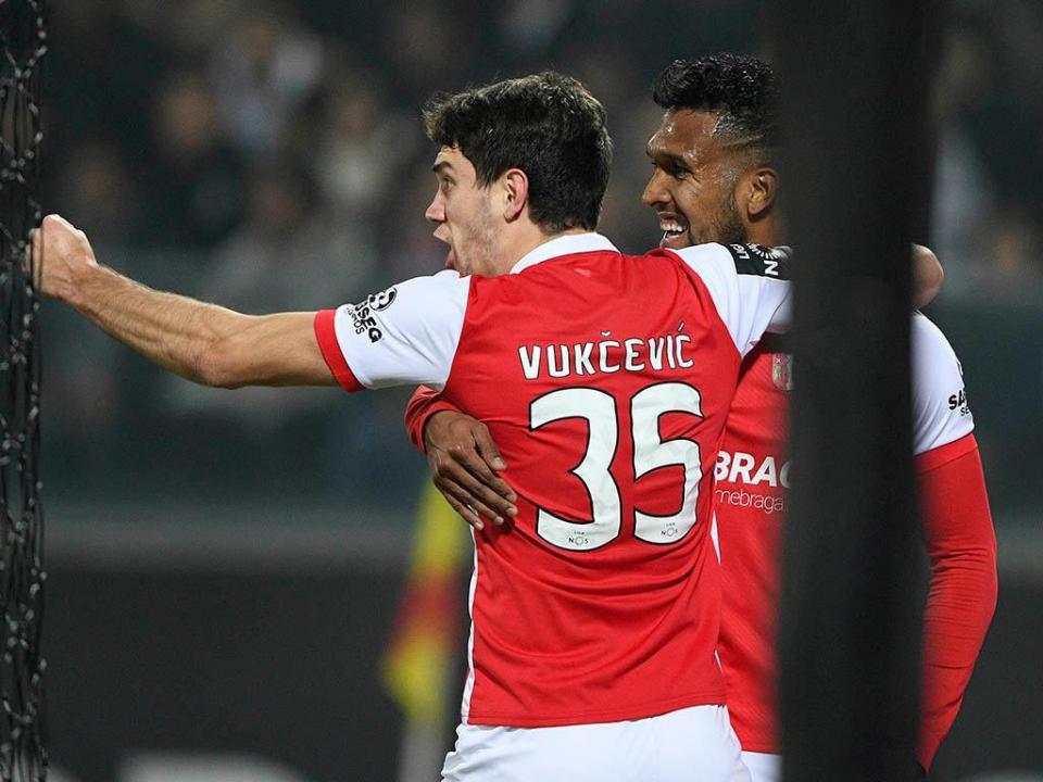 VÍDEO: Jefferson passa, Dyego Sousa marca para o Sp. Braga