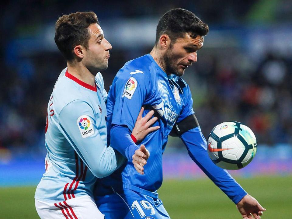 Espanha: Getafe vence e ultrapassa Celta de Vigo