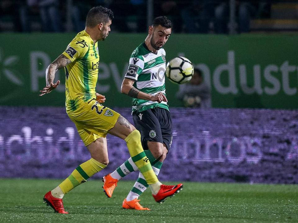 Tondela-Sporting, 1-2 (resultado final)