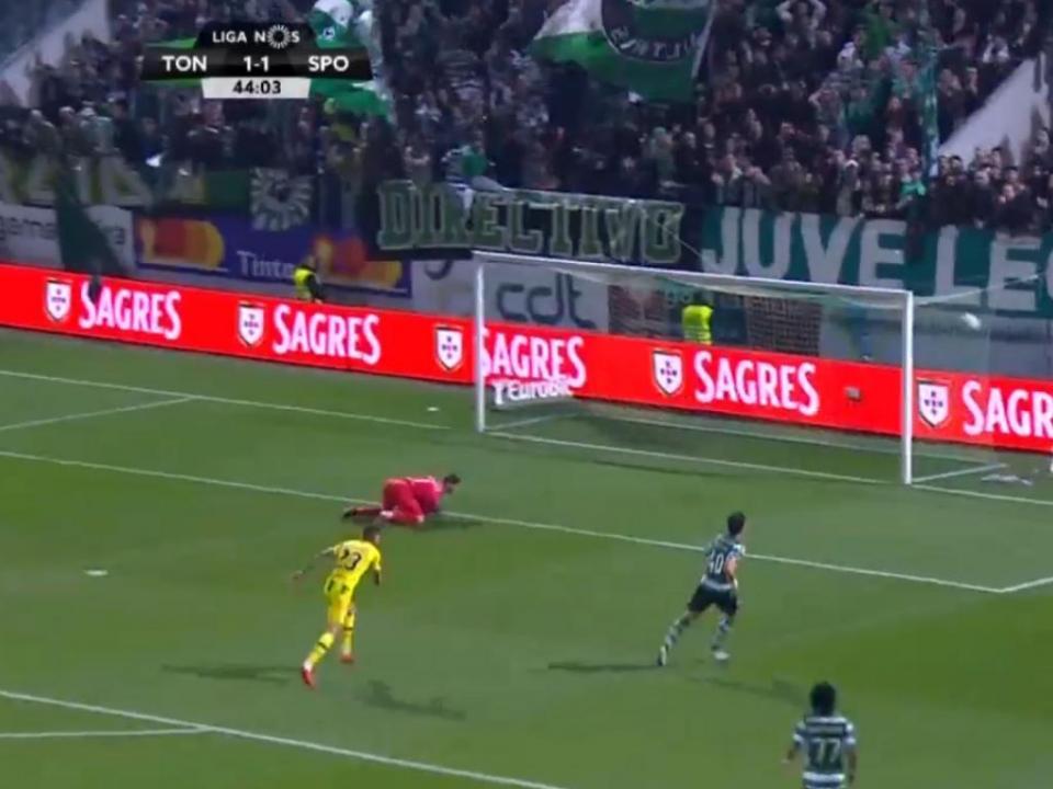 VÍDEO: voo soberbo de Ramos nega reviravolta ao Sporting