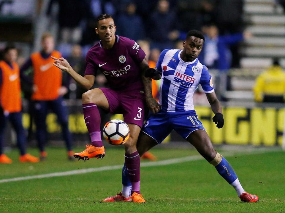 Wigan tomba City com apenas… 17 por cento de posse de bola