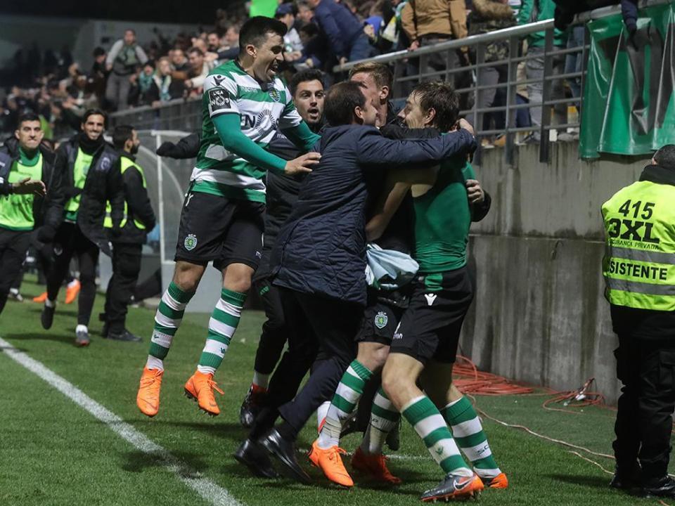 VÍDEO: o resumo da vitória do Sporting em Tondela