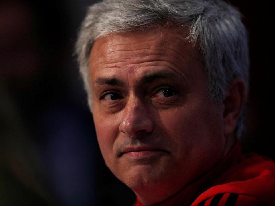 Mourinho: «Ri-me com o que disse Lukaku»