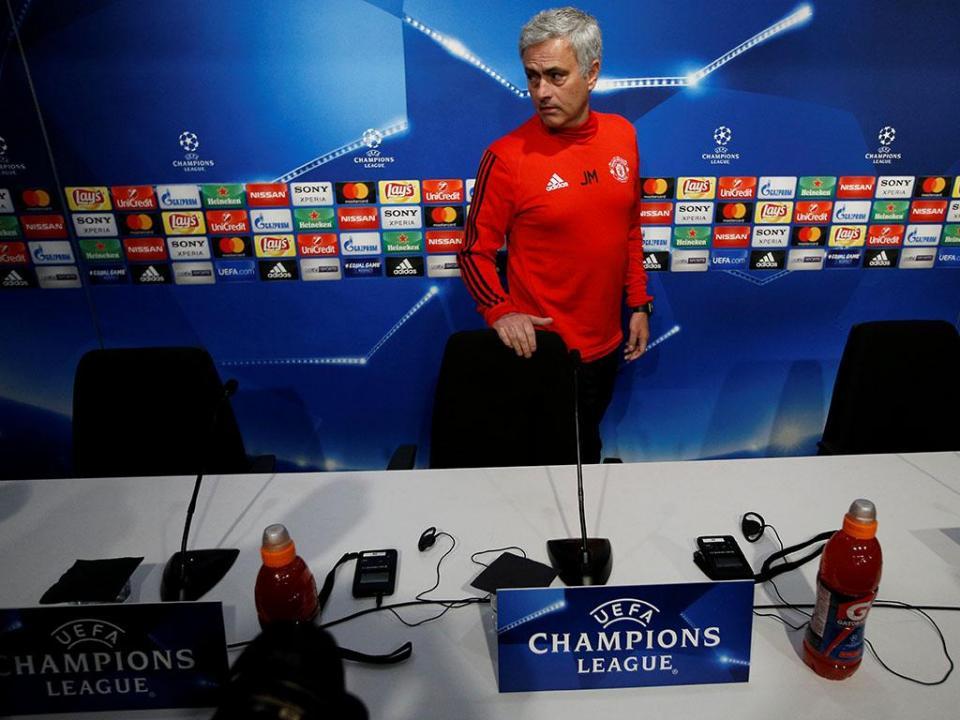 Mourinho e a Champions: «Este United está no meio de FC Porto e Inter»