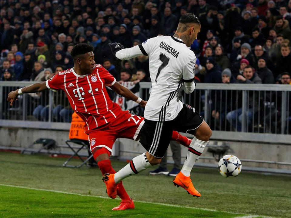 Bayern: Alaba de regresso para Madrid, Robben é baixa