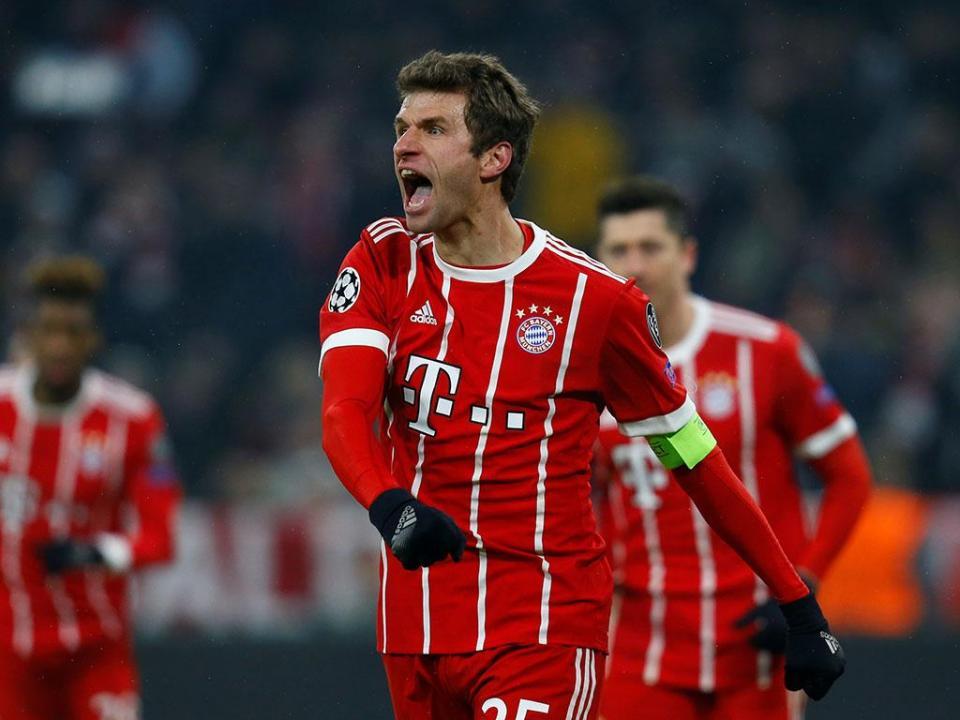 Bayern goleia e pode ser campeão frente ao Dortmund