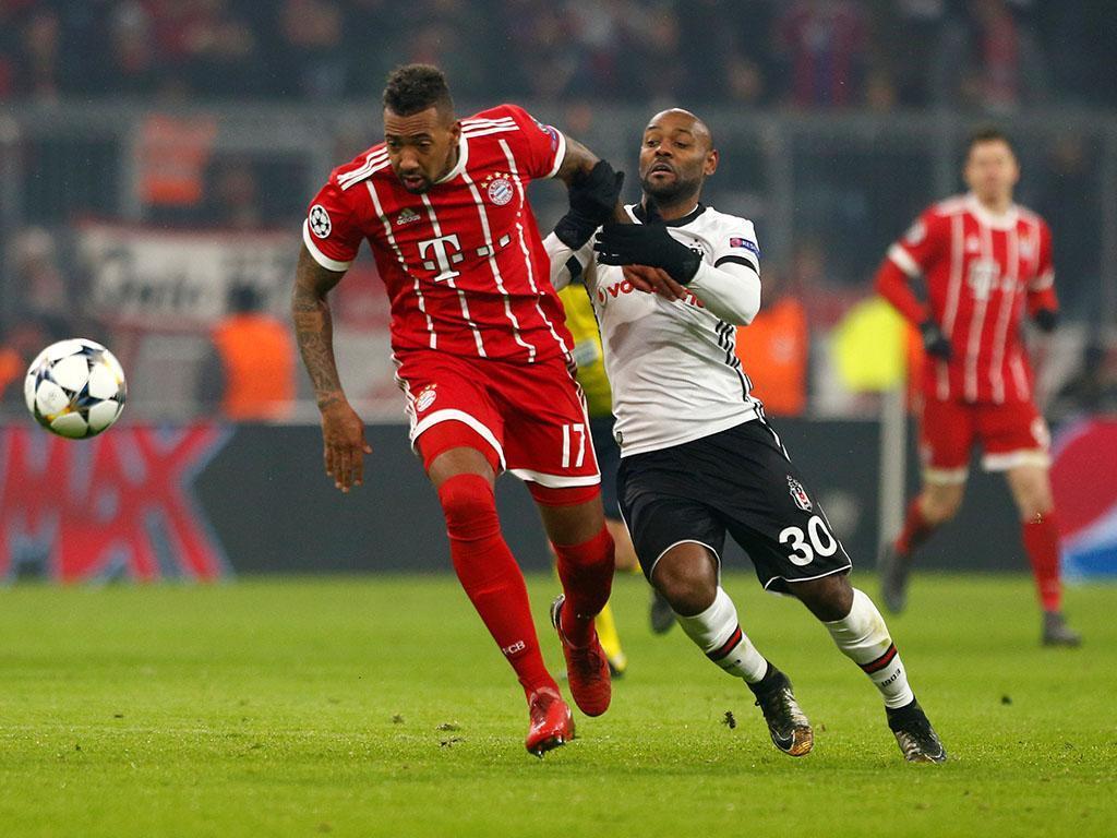 LC: Bayern goleia Besiktas e está com um pé e meio nos «quartos»