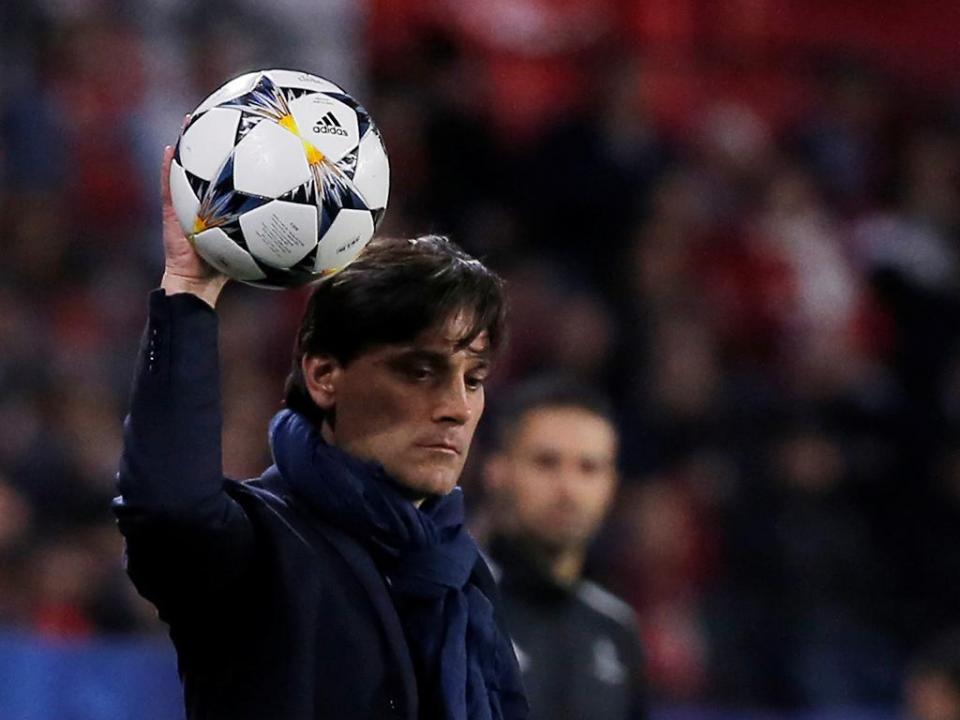 Montella lamenta derrota do Sevilha: «Não tivemos sorte»