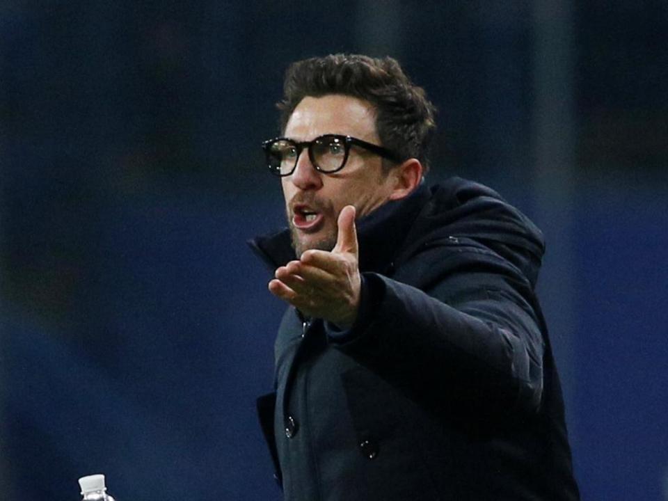 Di Francesco: «Posso dizer que estou encantado com Iniesta»