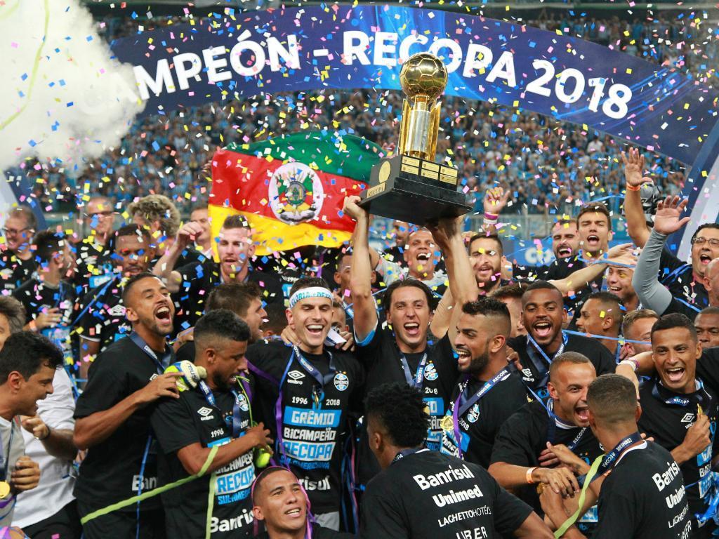 Grémio conquista Supertaça Sul-Americana