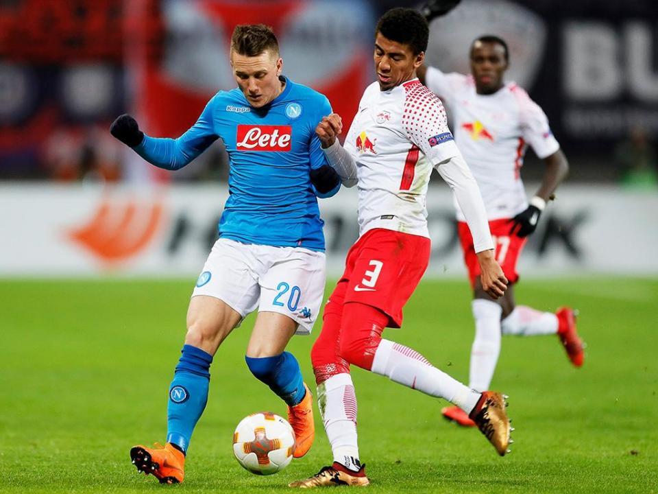 LE: golos fora apuram Leipzig e eliminam Nápoles