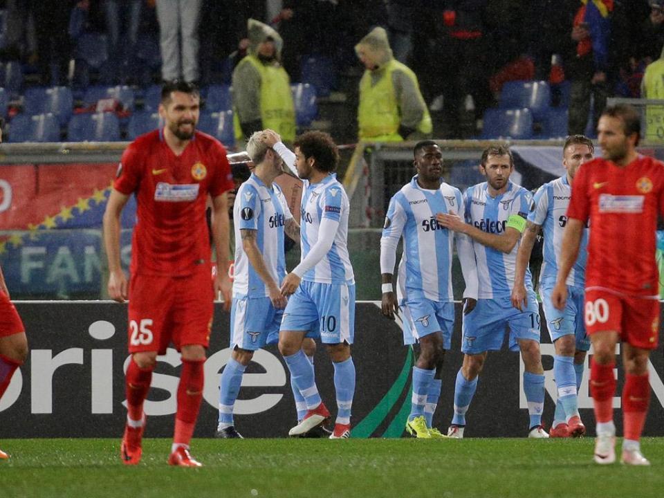 LE: Lazio apura-se com goleada e Nani no banco