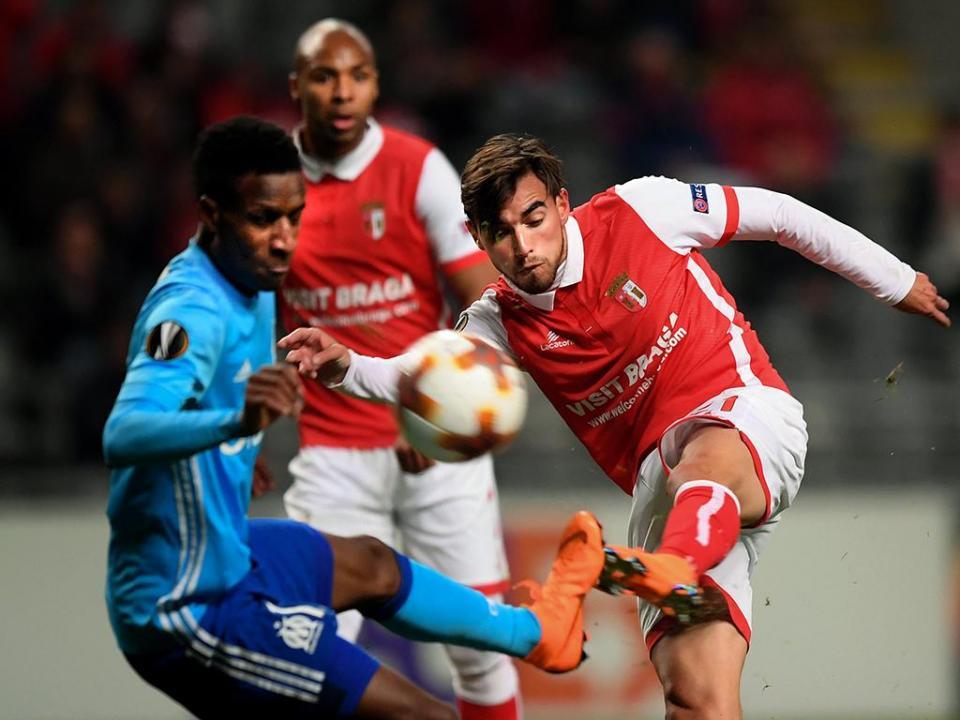 LE: Sp. Braga-Marselha, 1-0 (destaques)