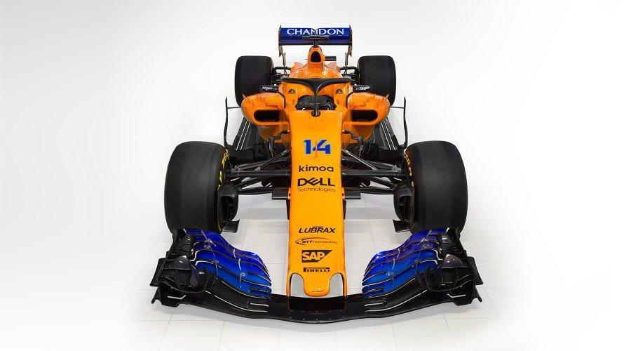 McLaren apresenta-se cheio de vitamina C