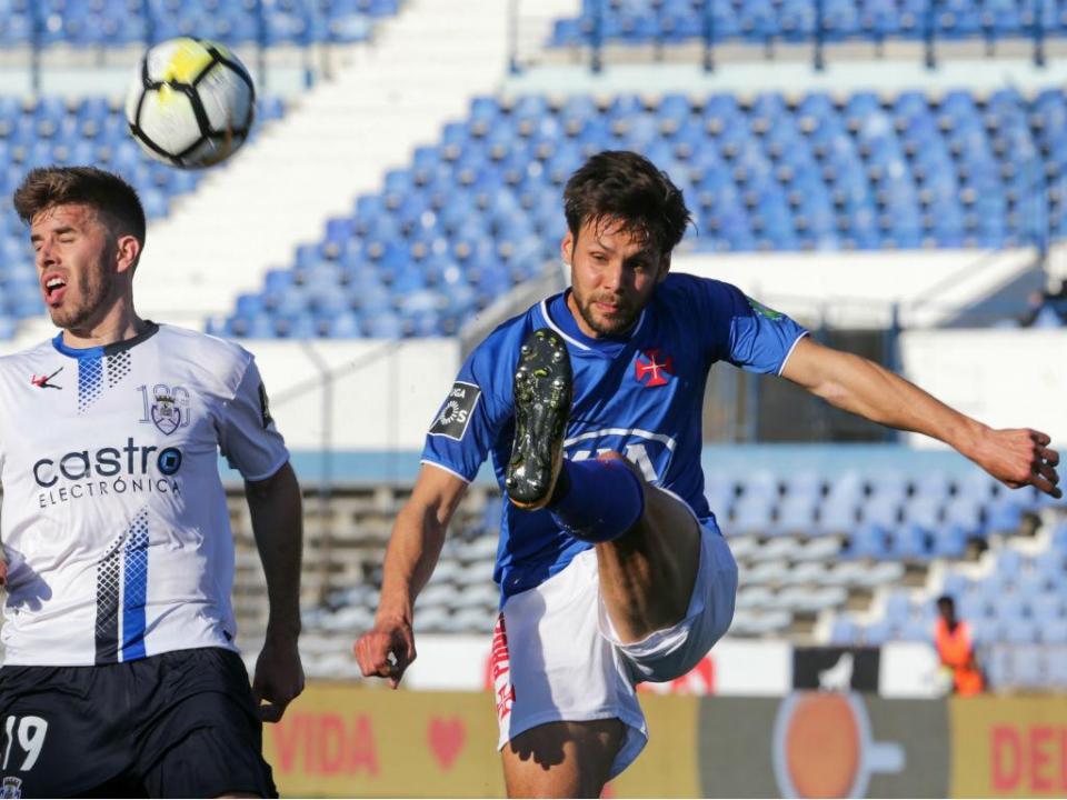 Belenenses-Feirense, 1-0 (resultado final)