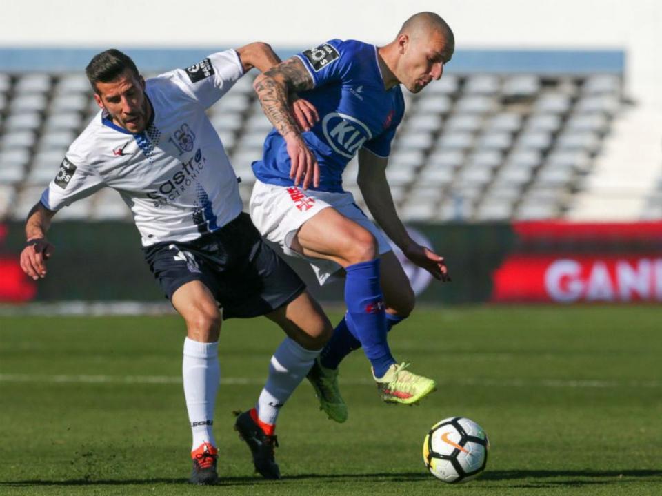 Belenenses-Feirense, 1-0 (destaques)
