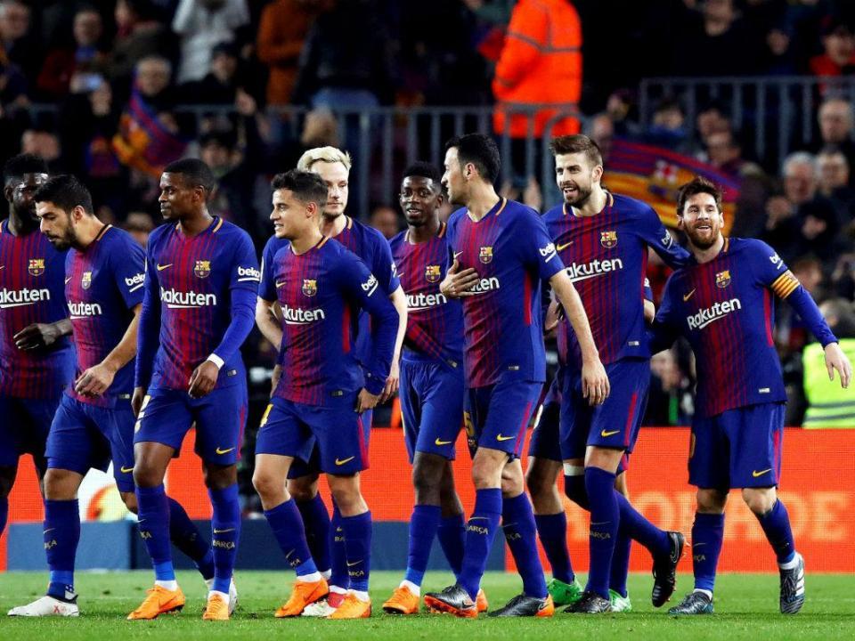Barça goleia Girona com três golos de Suárez e dois de Messi