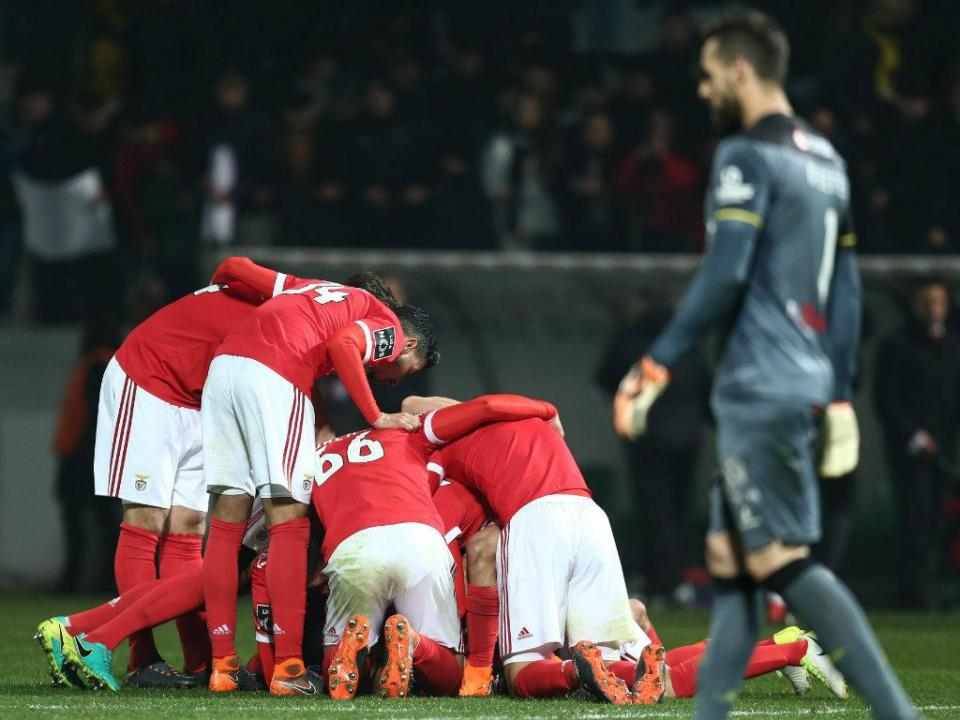 VÍDEO: o resumo da sofrida vitória do Benfica em Paços