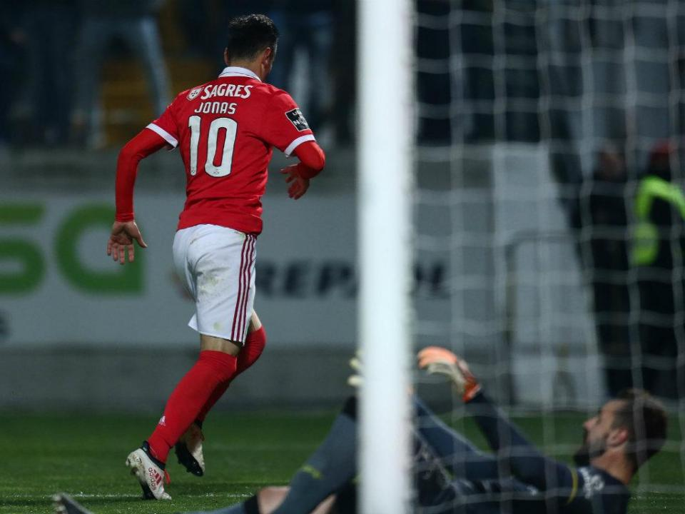 P. Ferreira-Benfica, 1-3 (destaques)