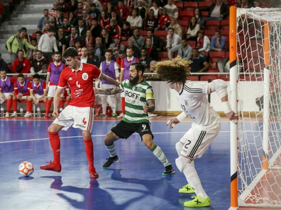 Futsal: dérbi será «final antecipada» e «jogo de detalhe»