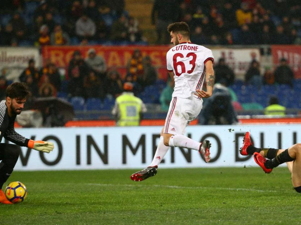 «Se Cutrone deve sair do Milan? Sim, deve»