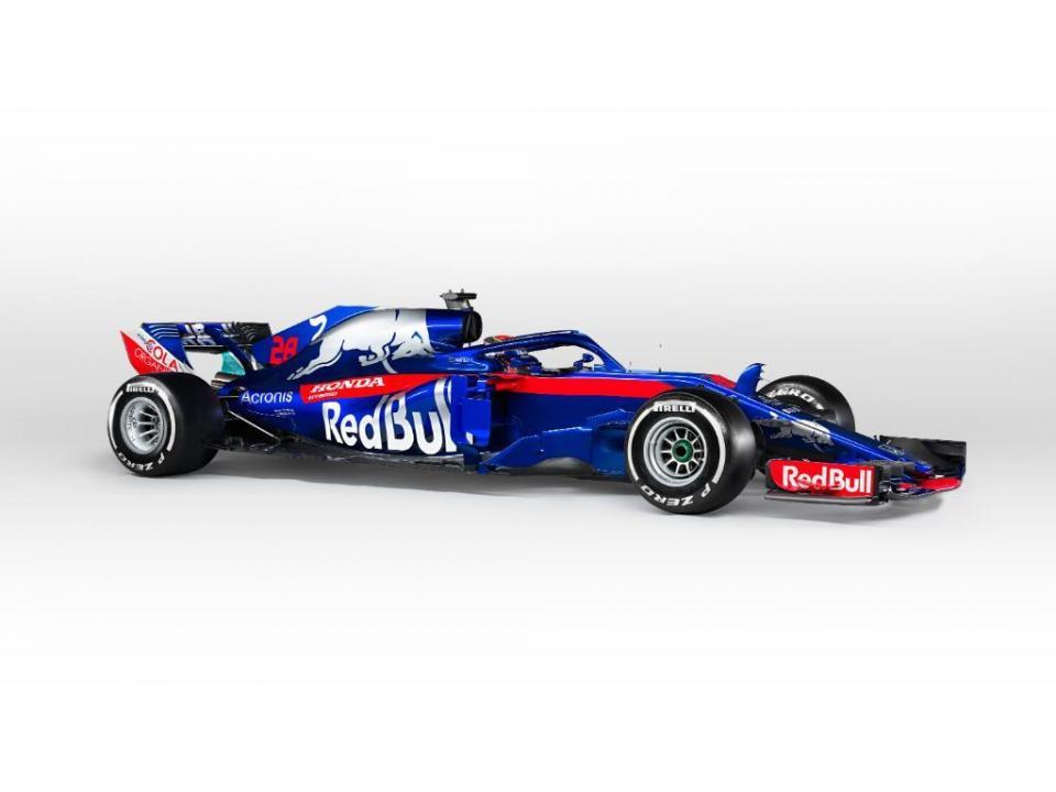 Toro Rosso apresenta-se ao serviço