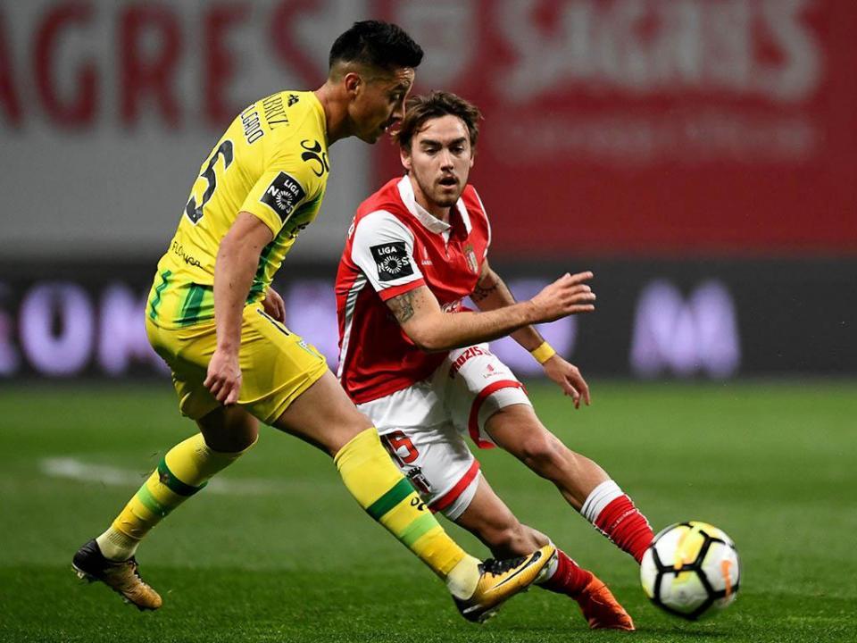 Sp. Braga-Tondela, 1-0 (destaques)