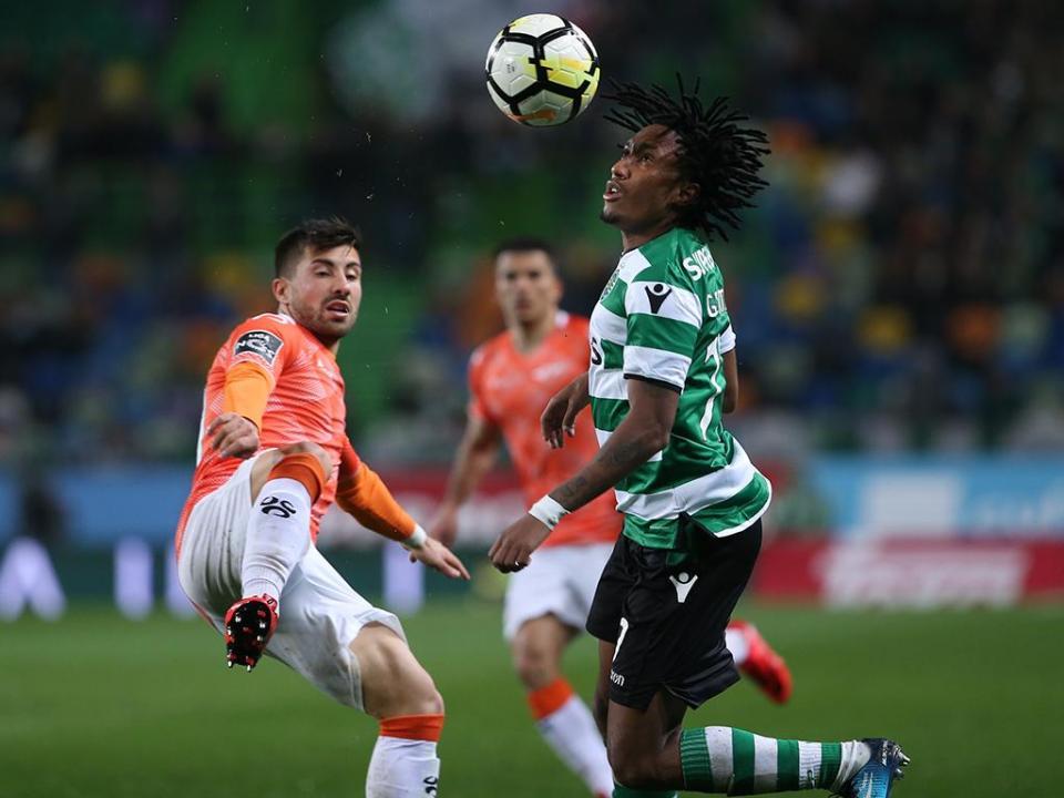 Sporting: Gelson Martins e Petrovic falham Dragão