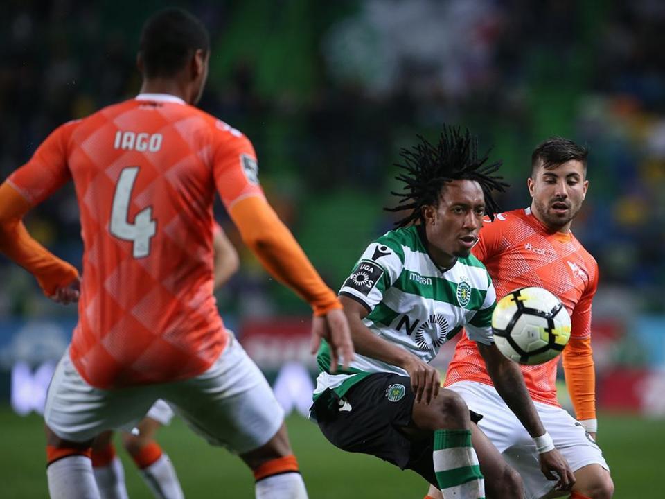 Sporting-Moreirense, 1-0 (resultado final)