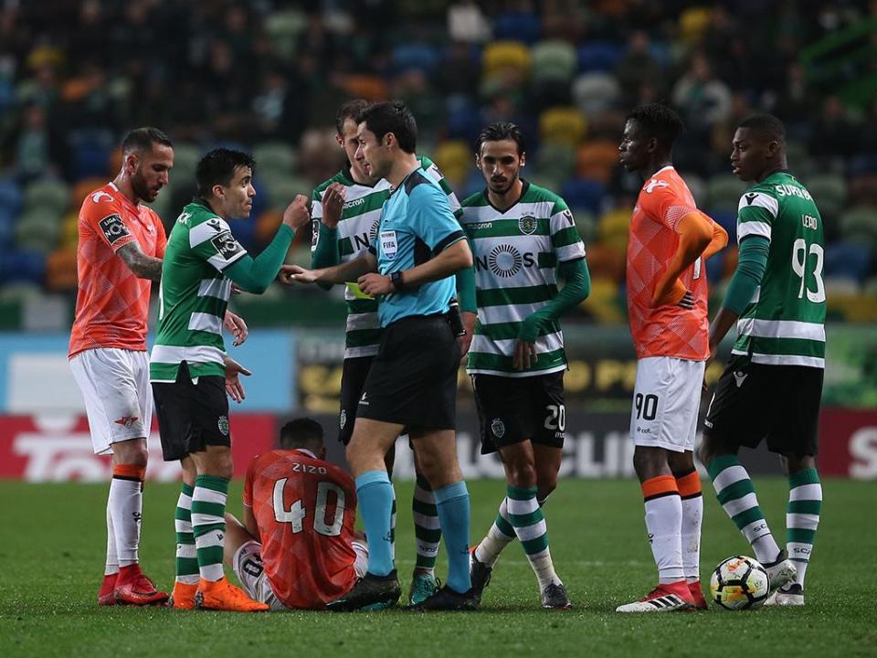 Sporting: participação por Petrovic já está na Liga