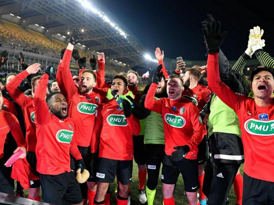 Taça de França: clube do terceiro escalão chega às meias-finais
