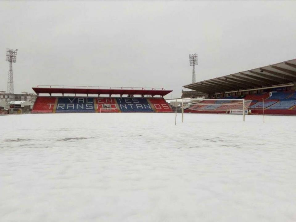 Desp. Chaves: neve cancela treino desta quarta-feira