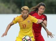 Futebol Feminino: Portugal-China (Lusa)