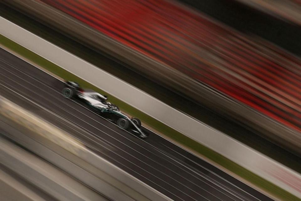 E o mais rápido de todos em Barcelona foi Hamilton
