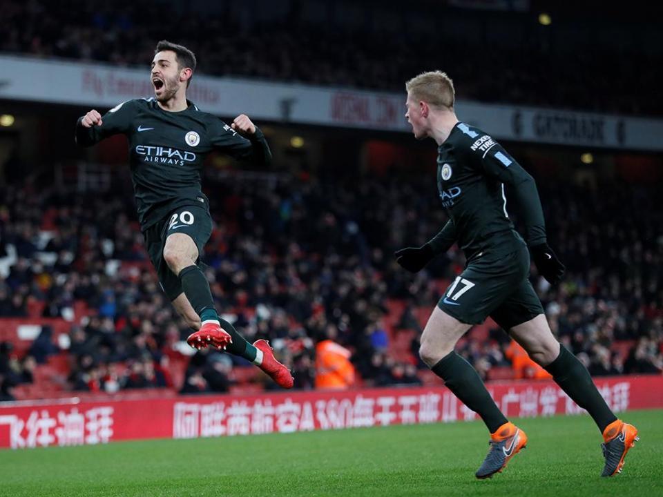 Man. City volta a atropelar e deixa Arsenal a 30 pontos