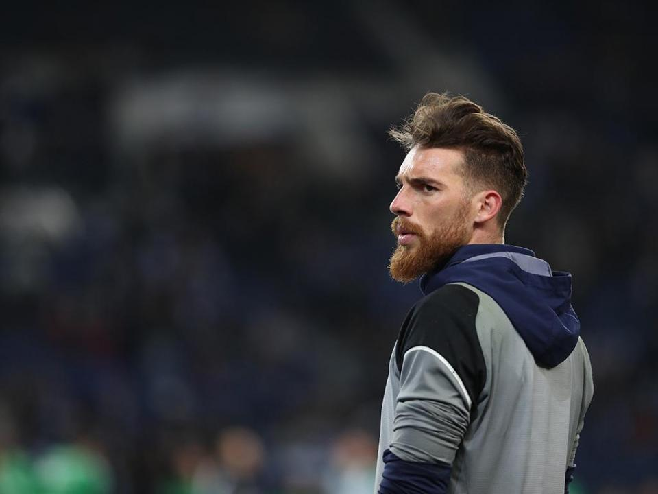 FC Porto: José Sá regressou ao Olival