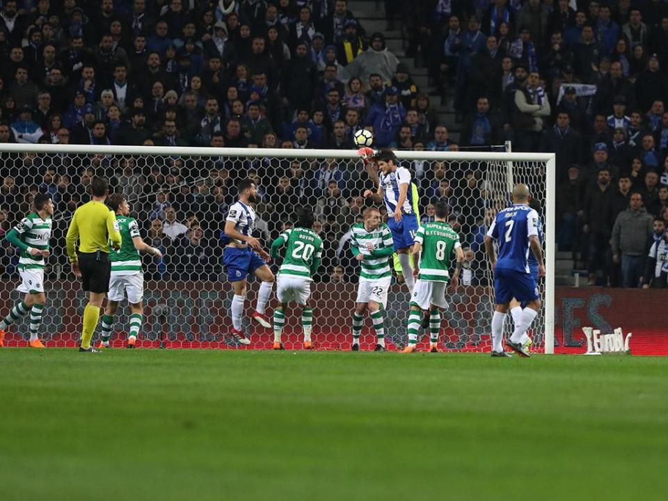 FC Porto-Sporting, 2-1 (destaques dos leões)