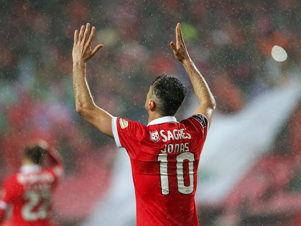 Benfica: nova reunião para definir Jonas
