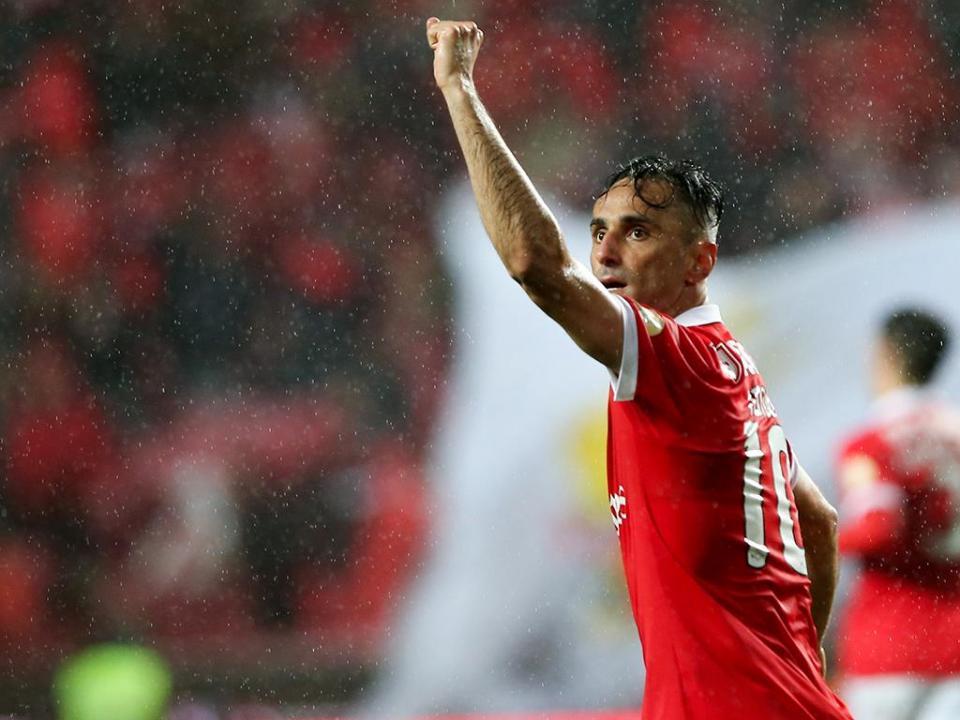 Jonas reúne com o Benfica em agosto para «possível renovação»
