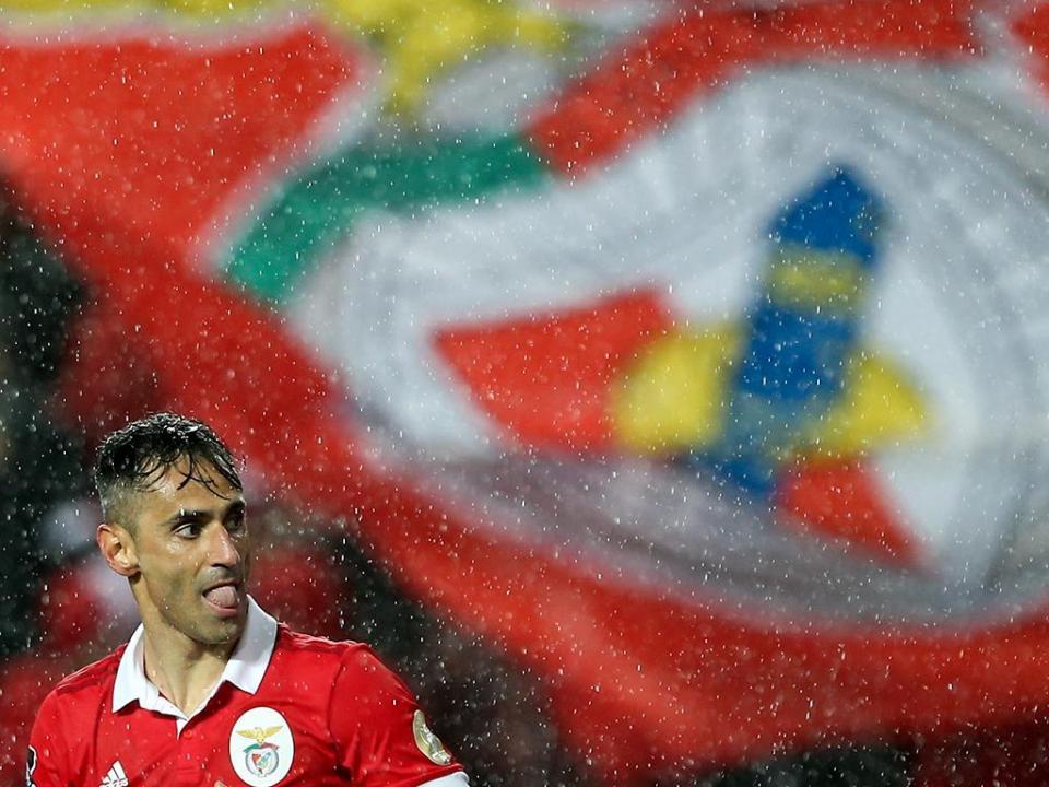 Benfica-Marítimo, 5-0 (crónica)