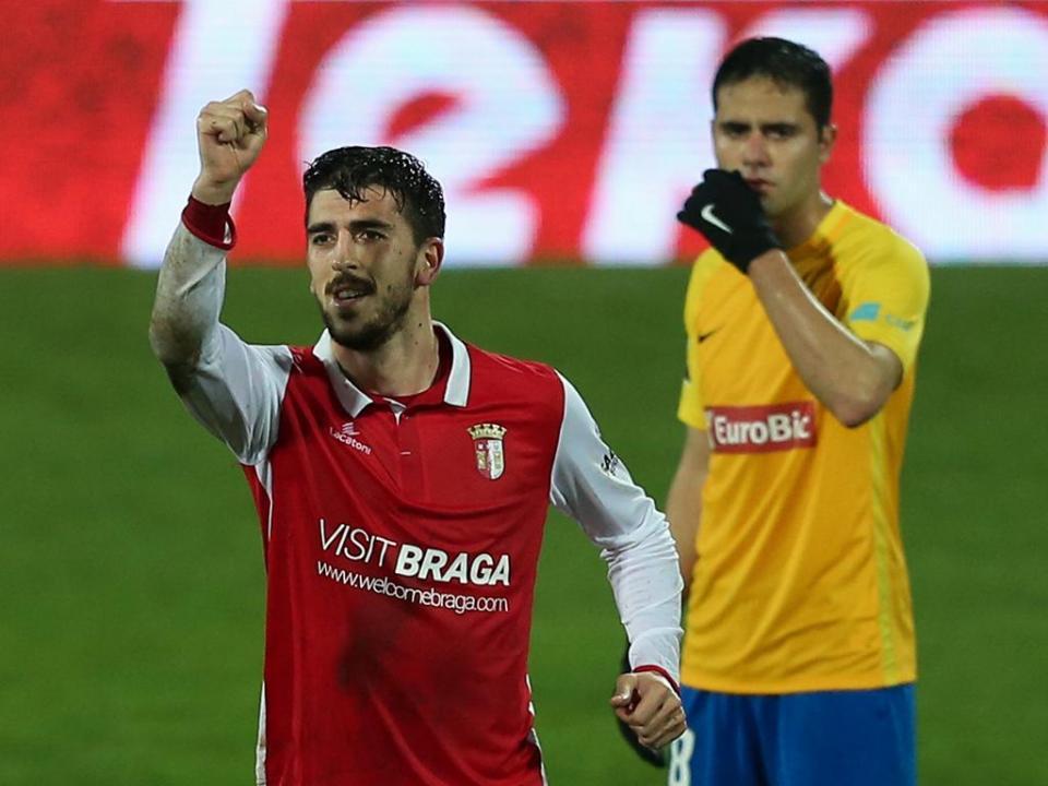 VÍDEO: Paulinho bisou e fez o quarto do Sp. Braga no Estoril